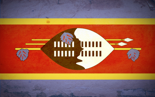 Flag of the Kingdom of Swaziland