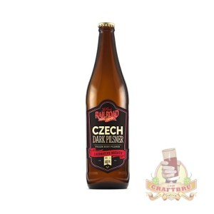 Czech Dark Pilsner by Great Railroad Brewing Company, KwaZulu-Natal, South Africa