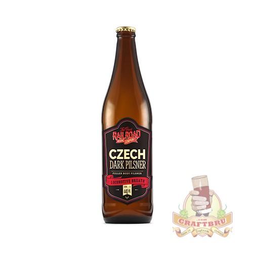 Czech Dark Pilsner by Great Railroad Brewing Company, KwaZulu-Natal, South Africa