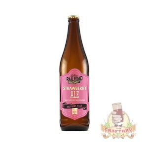Strawberry Ale by Great Railroad Brewing Company, KwaZulu-Natal, South Africa