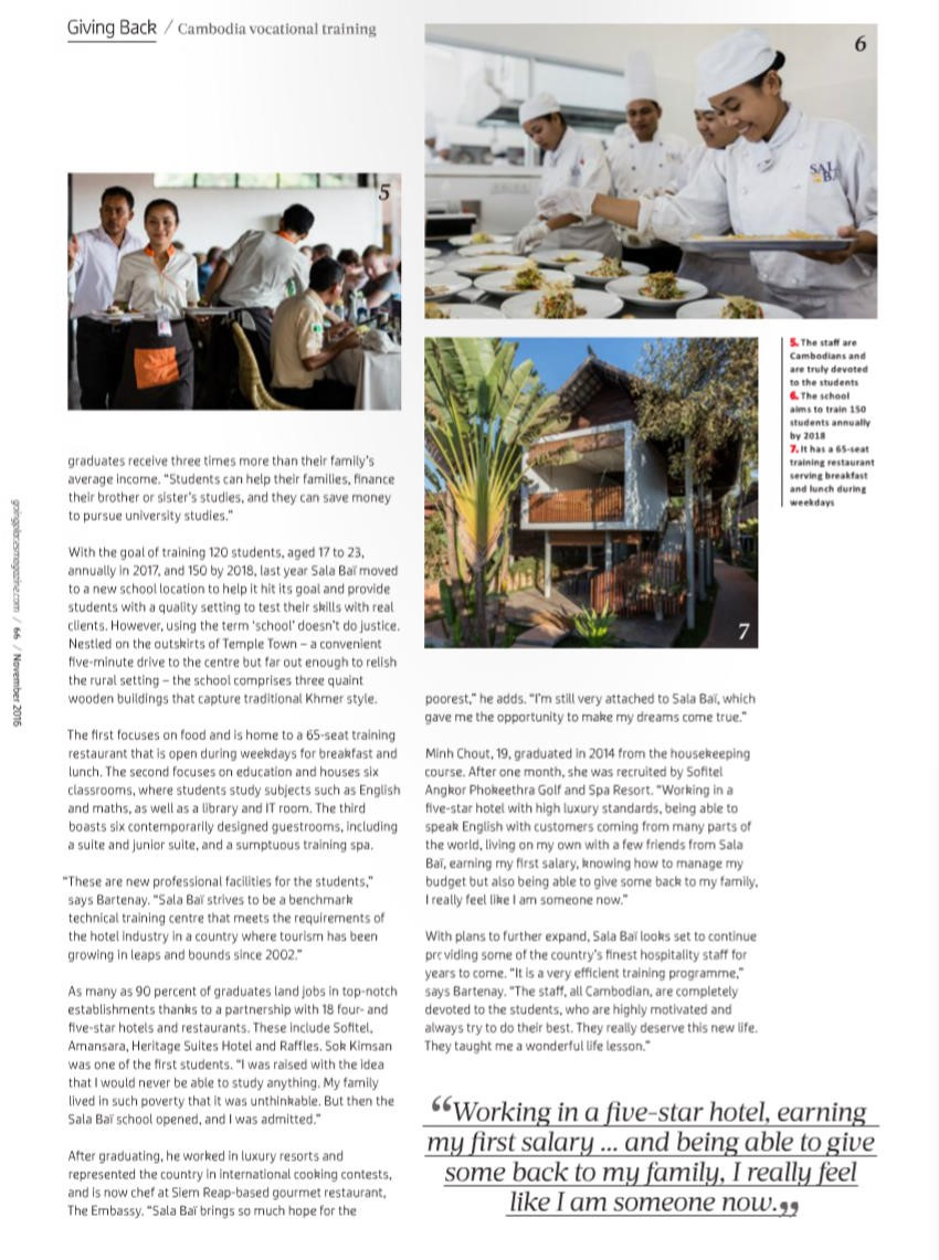 Heritage Suites Hotel luxury travel pr case study media coverage - Going Places (Malaysia Airlines inflight magazine)