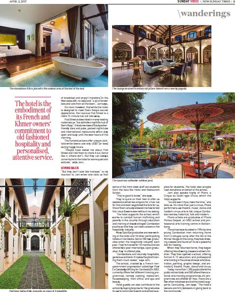 Heritage Suites Hotel luxury travel pr case study media coverage - New Straits Times, Malaysia