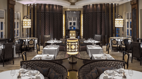 Staycation in Singapore at Capella; Cassia, Cantonese restaurant designed by Andre Fu from AFSO Hong Kong
