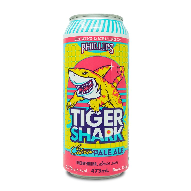 Tiger Shark 473mL Tall Can