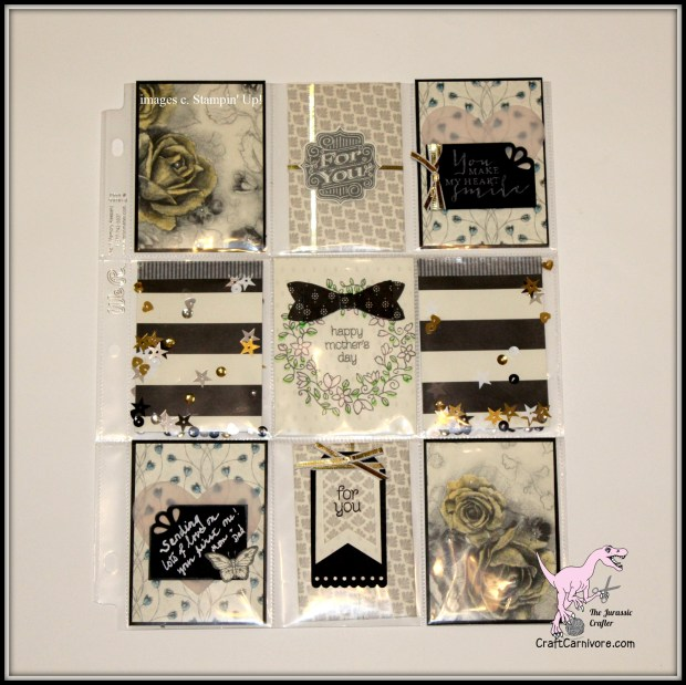 Pocket Letter made with Stampin' Up! Timeless Elegance
