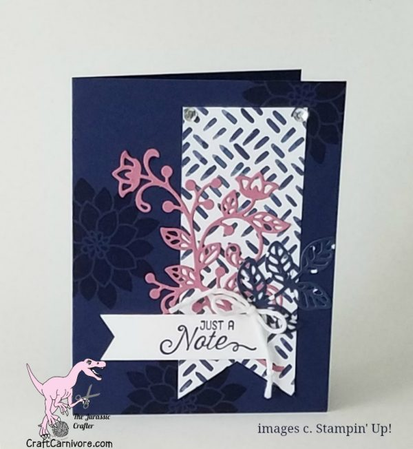 by Amy Hoptay, the Jurassic Crafter for more details click through to my blog! #stampinup #craftcarnivore
