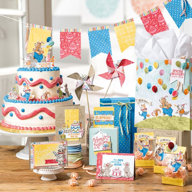 Birthday Delivery catalog order part 1