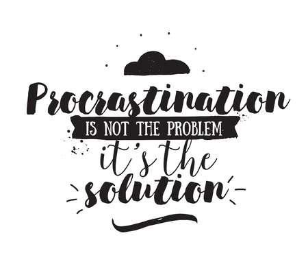 Halloween 2018 Procrastination quote