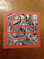 Zentangle-inchie