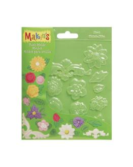 Makin's Push Mould Floral
