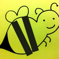 Easy Bumblebee Gluing Activity for Toddler Children