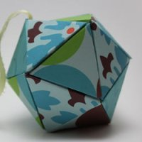 How to Make a D20 Icosahedron Ornament