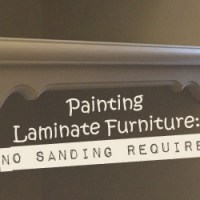 Painting Laminate Furniture: No Sanding Required