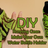 DIY Running Gear: Water Bottle Holder
