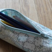 Cylinder Pencil Case Tutorial