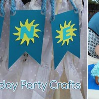 First Birthday Party Crafts: Expectations and Reality