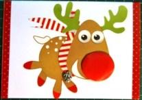 Card Reindeer