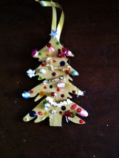 Christmas Tree wooden cut-out