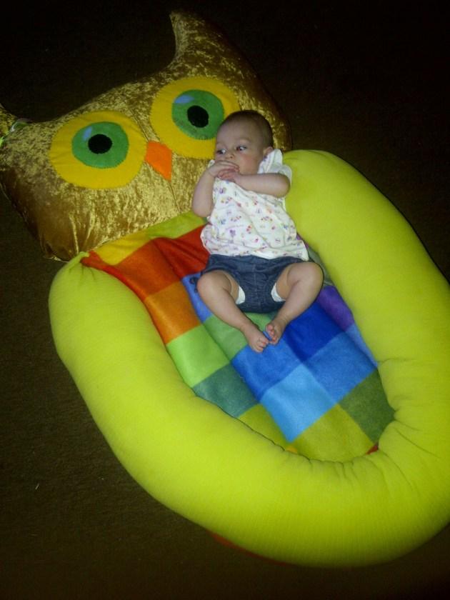 Owl Baby Donut