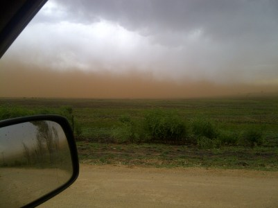 South Africa was hit by massive Sandstorms in August.