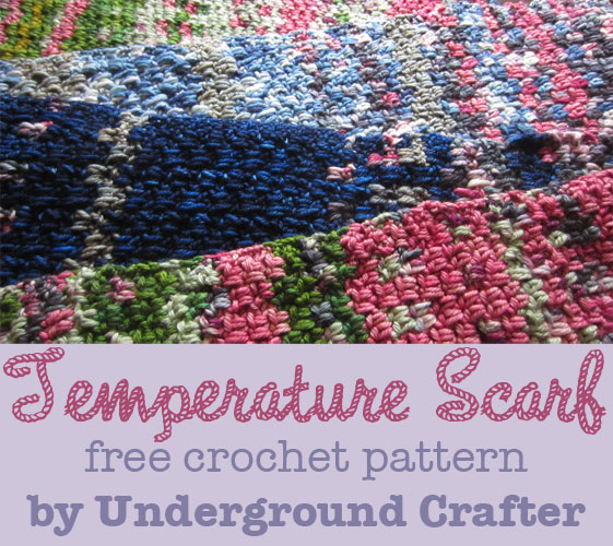 A Temperature Scarf?  What's that?