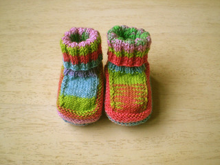 Baby boots.  So cute!