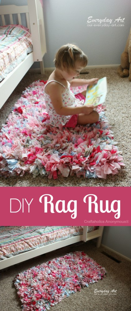 How to make rag rug
