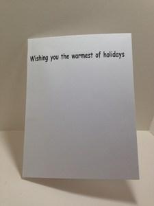 warmest of holidays