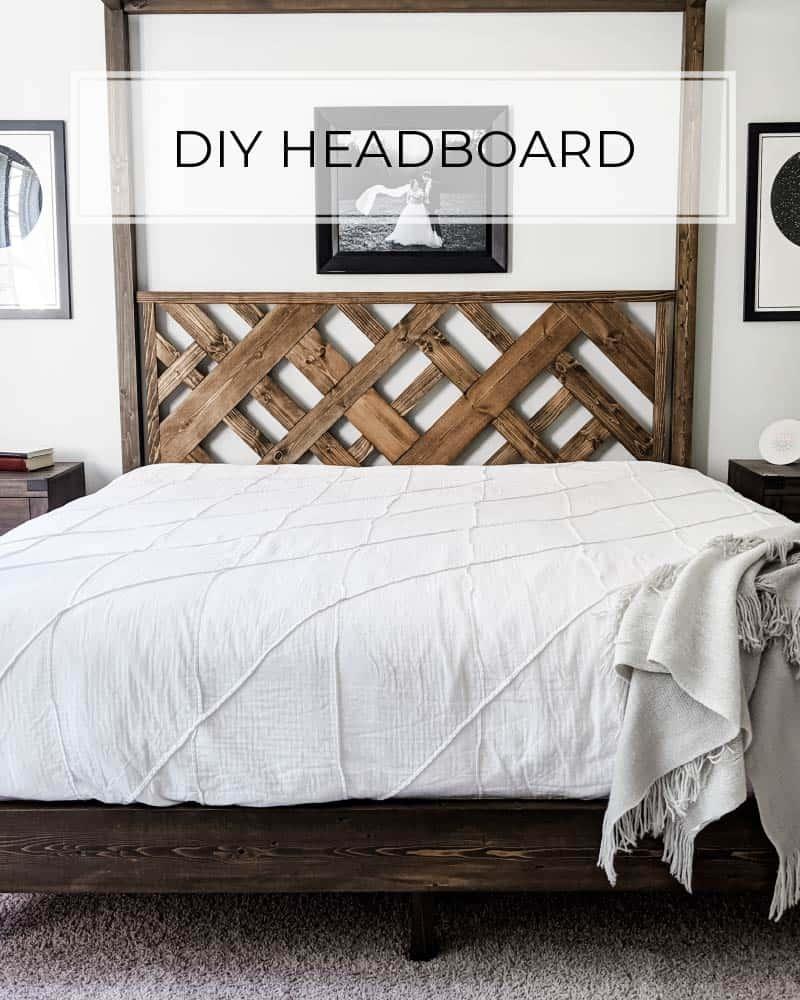 diy headboard in 7 simple steps