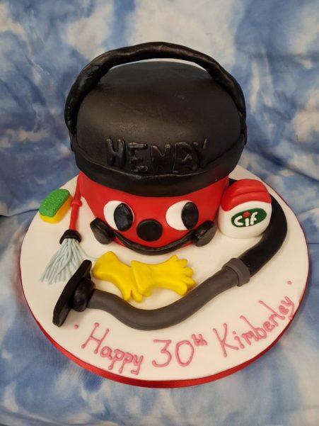 Henry Vacuum Birthday Cake