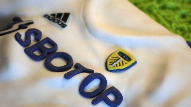 Leeds Cakes - Leeds United Shirt Birthday Cake