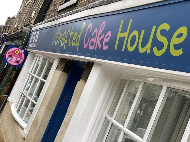 Morley Cakes Shop Sign