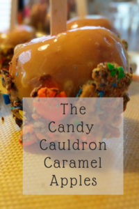 Candy Cauldron Caramel Apples Ashley Crafted