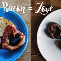 DIY Bacon Hearts