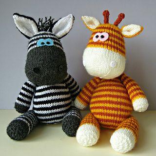 Amanda Berry's Cute Zebra & Giraffe