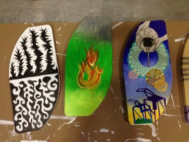 more finished boards.