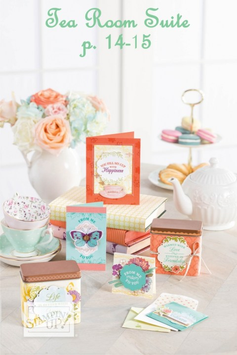 Meet the Suites! See the new Tea Room Suite of Stampiin' Up Products with project ideas at www.lyndafalconer.stampinup.net