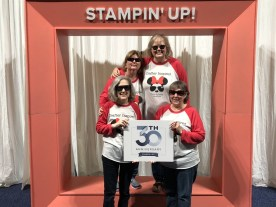 """1Team Crafter Inspired at 2018 Onstage in Orlando. T-shirts say """"Isn't it amazing what clever girls can do!"""""""