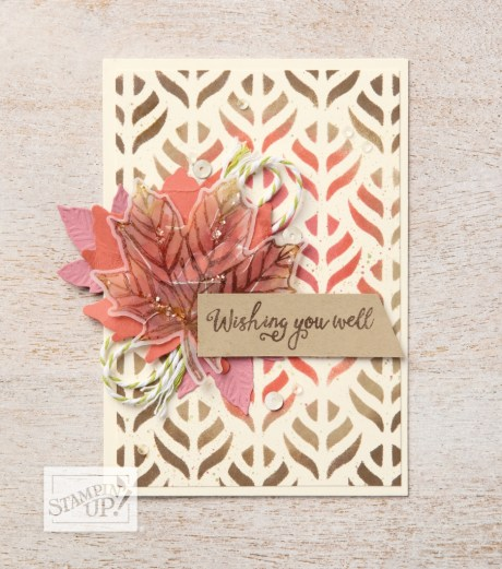 Come To Gather Suite includes this stunning card using Come Together Stamp Set. See more at lyndafalconer.stampinup.net