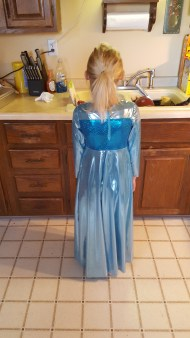 elsa dress back nugget