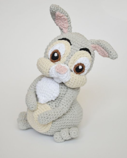 Thumper amigurumi pattern from Disney's Bambi