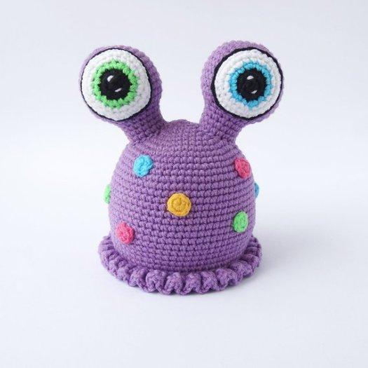 Crochet Monster Patterns - Wee Folk Art | 525x525