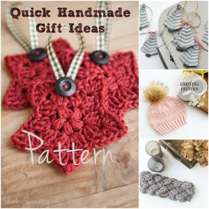 Check out this great collection of quick knit and crochet patterns!