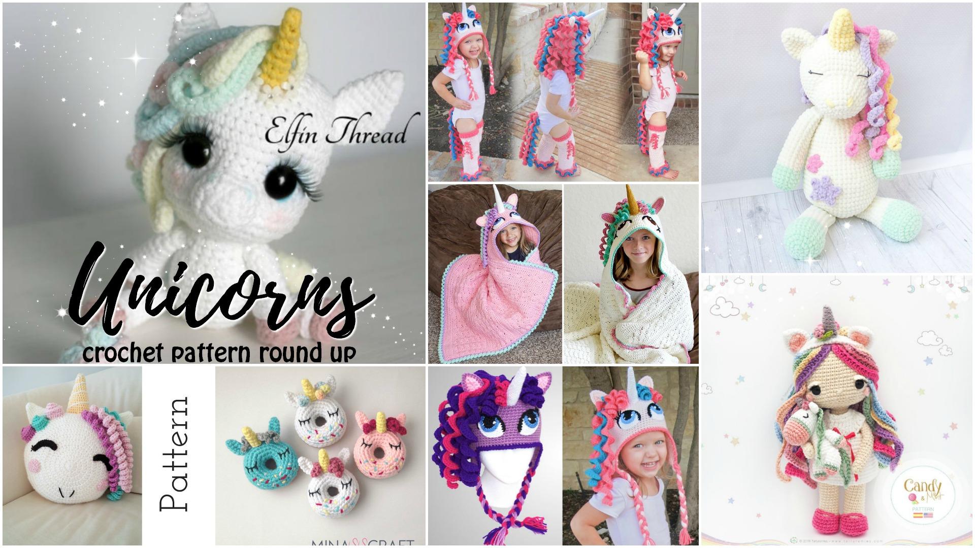 Ravelry: Amigurumi Unicorn Doll - Candy & Mint pattern by Tarturumies | 1080x1920