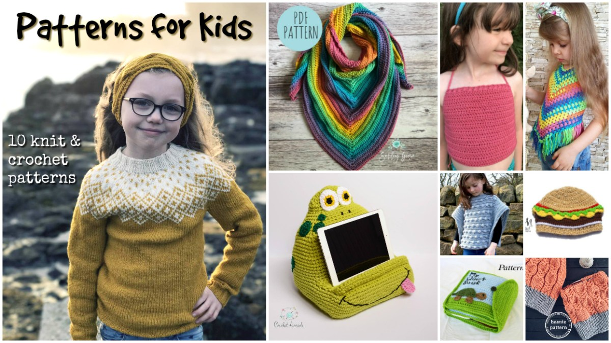 Knit &038; Crochet For Kids Crochet - Diy Crafts