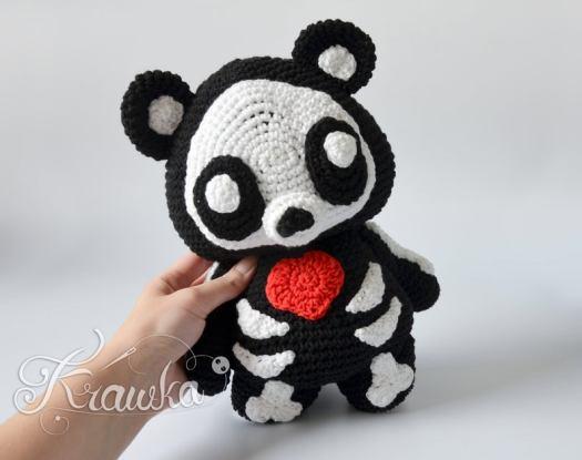 Miniature Crochet THREAD ARTist Bear and Lollipop Pattern PDF by ... | 415x525