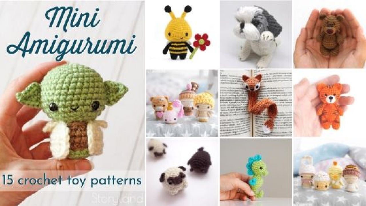 Amigurumi dog keychain/bag charm: pattern   Amiguroom Toys   720x1280