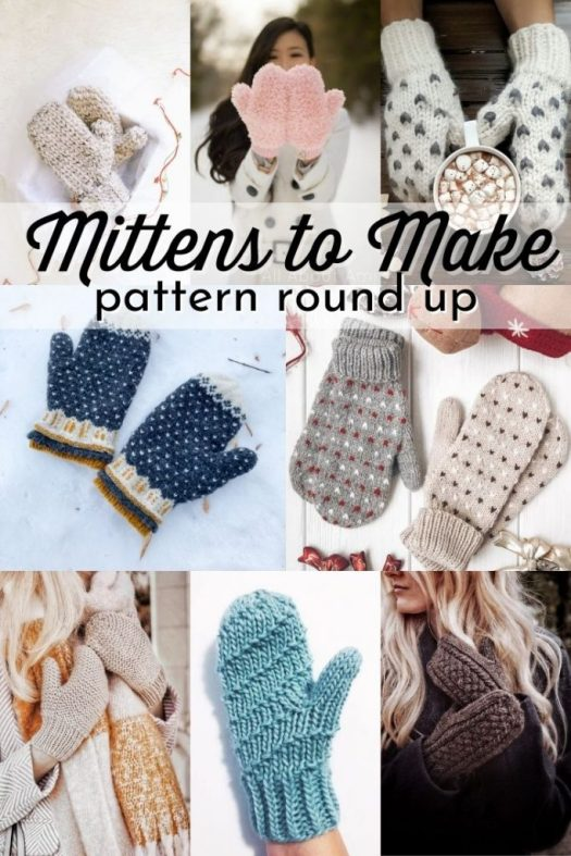 Make an adorable pair of mittens with the great collection of knit and crochet mitten patterns. Ranging from beginner to advanced mitten patterns, these mittens are sure to delight and keep your hands warm this winter!