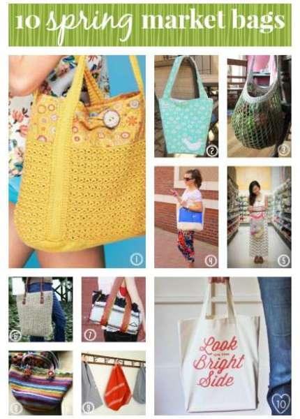 10 Spring Market Bags