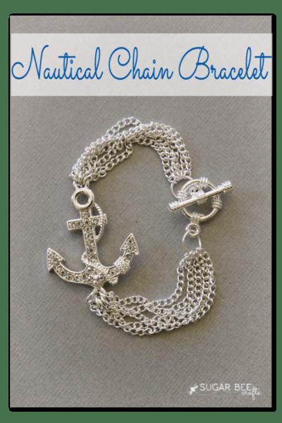 nautical chain bracelet